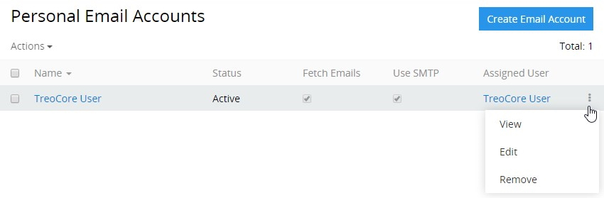 Email Actions