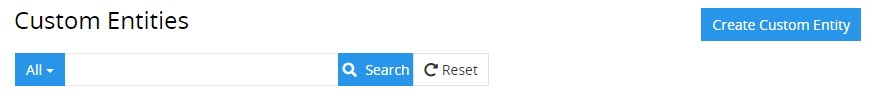 Search and filtering
